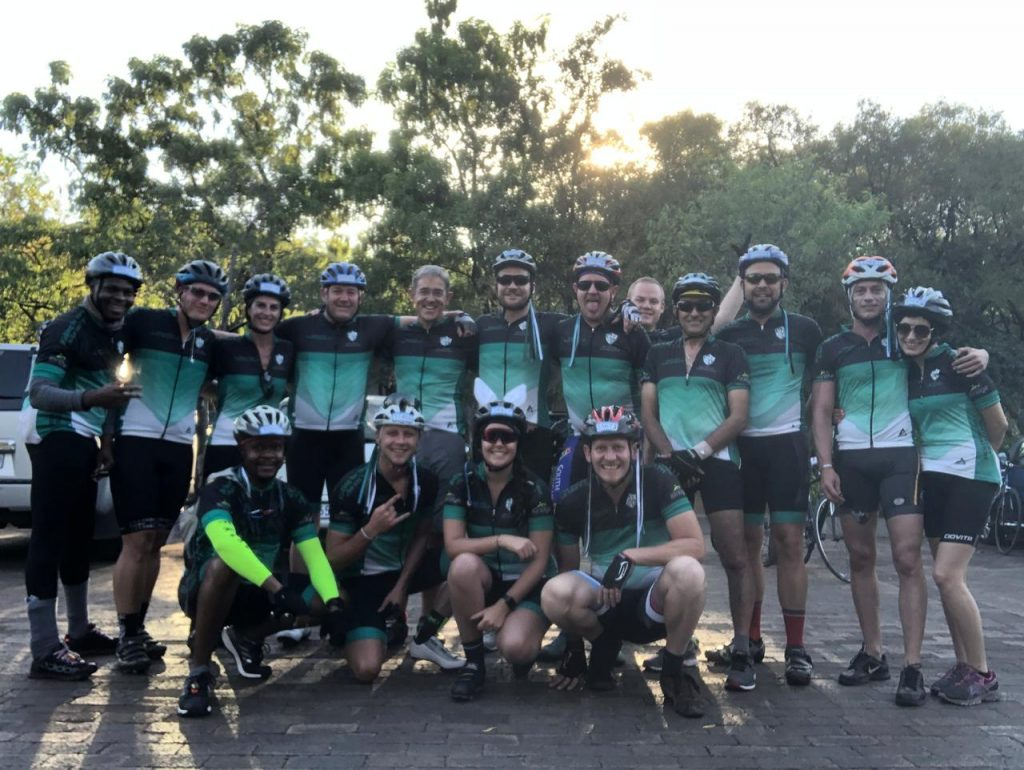 The Recovery Foundation Cycle Team