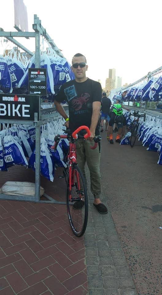 Roberto Ferreira - IRONMAN 70.3 Bike