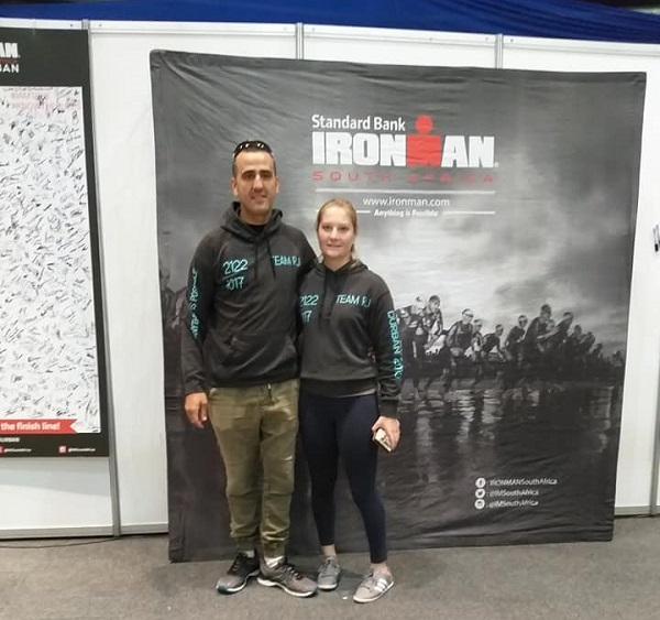 Roberto Ferreira and Julia Clucas - IRONMAN 2019