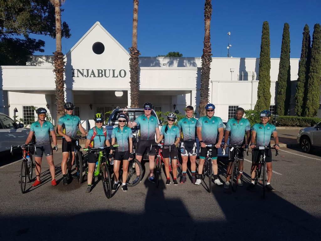 The Recovery Foundation 947 Cycle Challenge Team